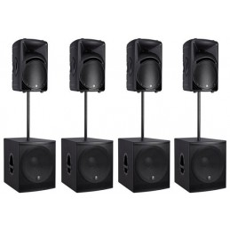Larger Complete PA System Hire