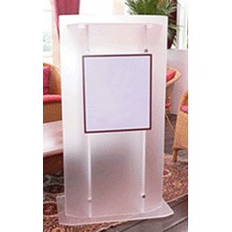 Frosted Acrylic Lectern