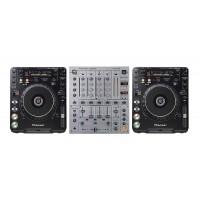 DJ Set Mixer & Lighting Hire